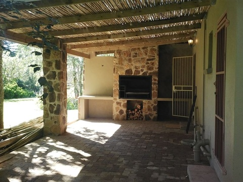 Treelands Estate, Braai area, Bachelor with patio, Dullstroom Accommodation